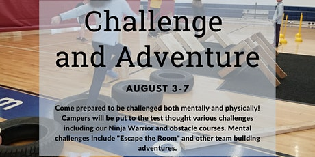 Summer Fun at JWP: Challenge and Adventure tickets