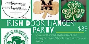 St. Patty's Day Door Hanger Party