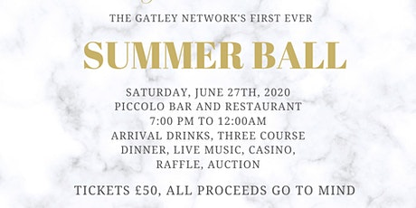 The Gatley Network Summer Ball tickets