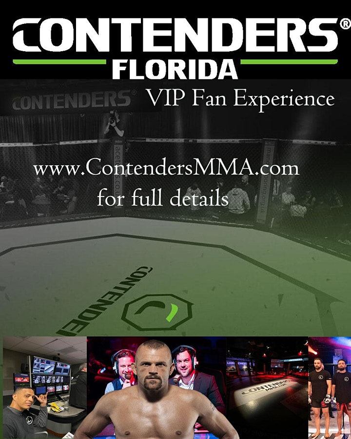 Contenders Production Tour and Fan Experience with Chuck Liddell image
