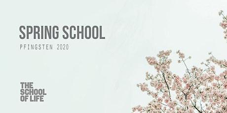 Spring School Pfingsten 2020 Tickets