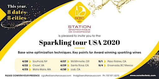 Sparkling Tour 2020 - MCMINNVILLE, OR