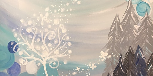 Magical Forest - Spring Paint Night!