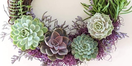 Spring Succulent Wreath Workshop tickets