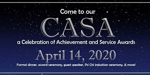 The CASA (a Celebration of Achievement and Service Awards) 2020
