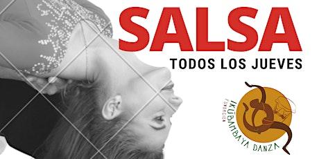 Fiebre de salsa tickets
