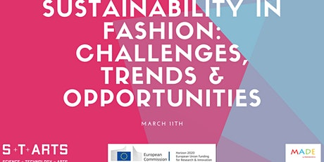 Sustainability in fashion: challenges, trends & market opportunities  tickets