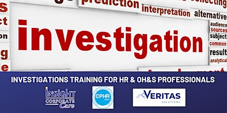 Calgary 2-Day Investigations Training for HR and OH&S Professionals tickets