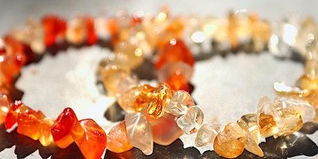Make Your Own Crystal Intention Bracelet Workshop tickets