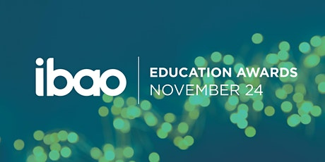 IBAO 2020 Education Awards tickets