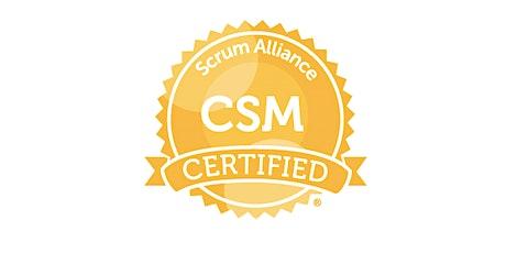 Certified ScrumMaster (CSM) -(Remote/Virtual) tickets