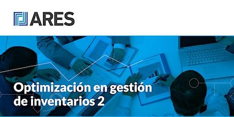 "Taller: ""Optimización en gestión de inventarios 2"" entradas"