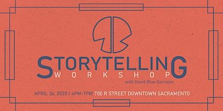 Storytelling Workshop with David Blue Garrison tickets