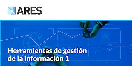 """Taller: """"Herramientas de gestión de la información 1-Planillas de cálculo"""" entradas"""