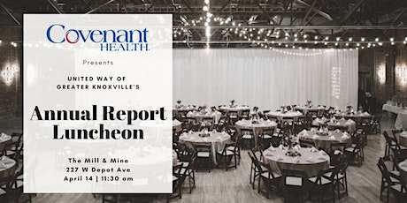 United Way Annual Report Luncheon tickets