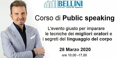 Corso di Public speaking biglietti