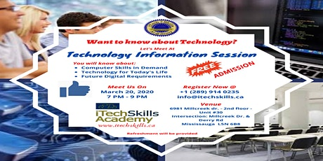 Free Technology Information Session tickets