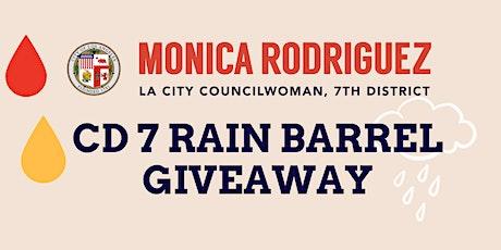CD 7  Free Rain Barrel Giveaway tickets