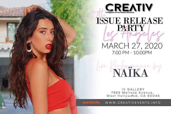 37th Issue Release Party Creativ launches in LA image