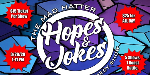 HOPES & JOKES ALL DAY COMEDY CHARITY SHOW