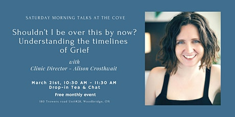 Shouldn't I be over this by now?  Understanding the timelines of Grief tickets