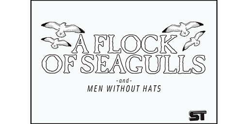 FLOCK OF SEAGULLS w/MEN WITHOUT HATS
