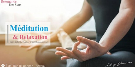 0² MÉDITATION & RELAXATION tickets