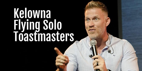 Kelowna Flying Solo Toastmasters Weekly Meeting - June 2 tickets
