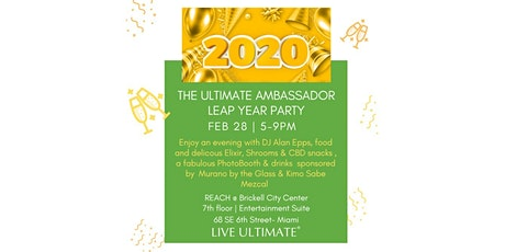 Live Ultimate's Leap Year Party! tickets