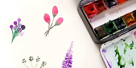 Intro to Watercolour Workshop : Floral Edition tickets