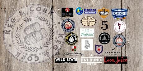 Keg & Cork~beer, wine & cider tasting! Sponsor: Colin Charlson, State Farm  tickets