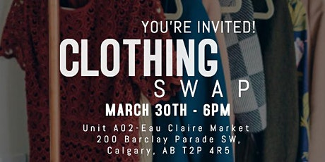 Clothing Fashion Swap tickets