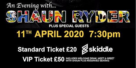 An Evening with....Shaun Ryder tickets