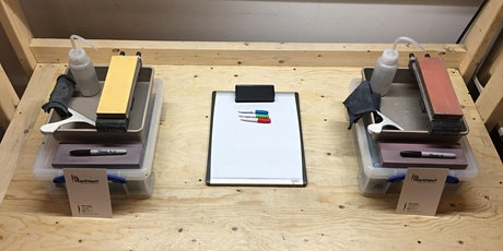 Knife sharpening workshop (in english) tickets