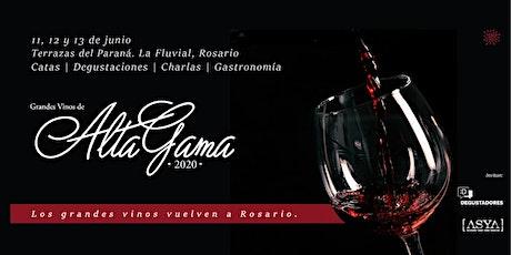 Alta Gama Rosario 2020 - Grandes vinos argentinos entradas