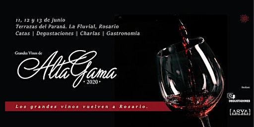 Alta Gama Rosario 2020 - Grandes vinos argentinos