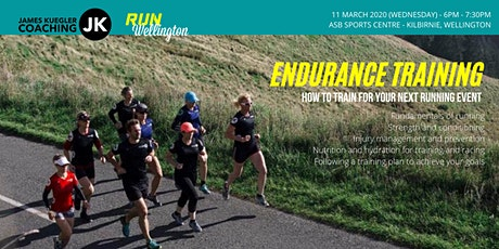 Endurance Training for your next Running event tickets