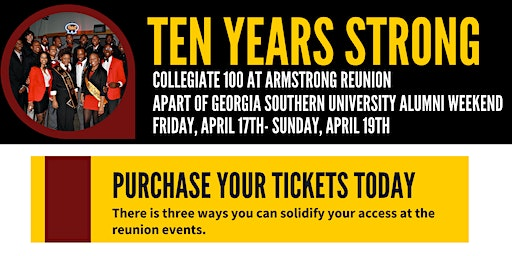 Ten Years Strong- Collegiate 100 at Armstrong