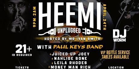 Anointed Society Presents HEEMI UNPLUGGED tickets
