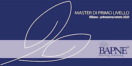 Master di 1° livello - Metodo BAPNE biglietti