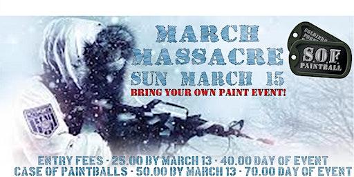 March Massacre BYOP Game