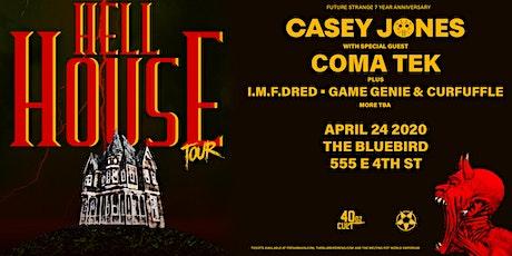 Hellhouse Tour ft Casey Jones at Bluebird-Future Strange 7 Year Anniversary tickets