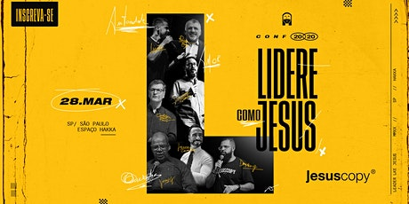 Conferência de Líderes Jesuscopy ingressos