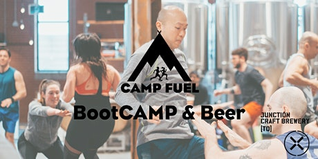 BootCAMP & Beer   Camp Fuel   Junction Craft Brewing  tickets