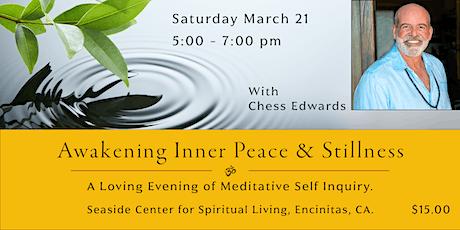 Awakening Inner Peace and Stillness tickets