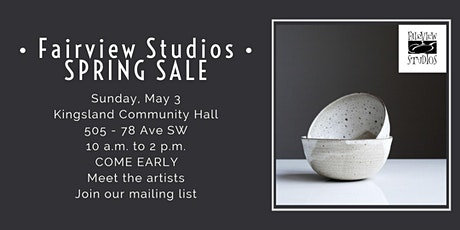 Fairview Pottery Studios SPRING SALE tickets
