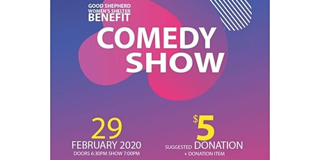 Comedy Show to Benefit NYC Women's Shelter (FREE FOOD, BEER & WINE W/ DONATION) tickets