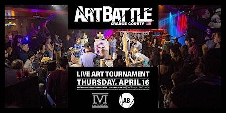 Art Battle Orange County - April 16, 2020 tickets