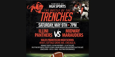 The Battle of The Trenches (Illini Panthers VS Midway Marauders) tickets