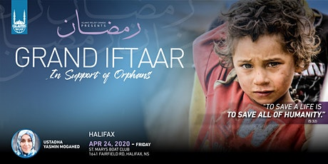 Grand Iftaar in Support of Orphans · Halifax tickets